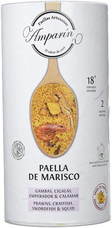 Paellas Artesanas Amparín, Conserva de crema de marisco (Paella ...