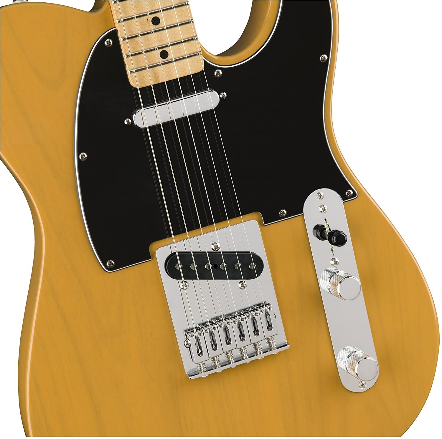 Fender Standard Telecaster Electric Guitar Maple The Wiring Blog Diagrams And Tips January 2011 Fingerboard Butterscotch Blonde Musical Instruments
