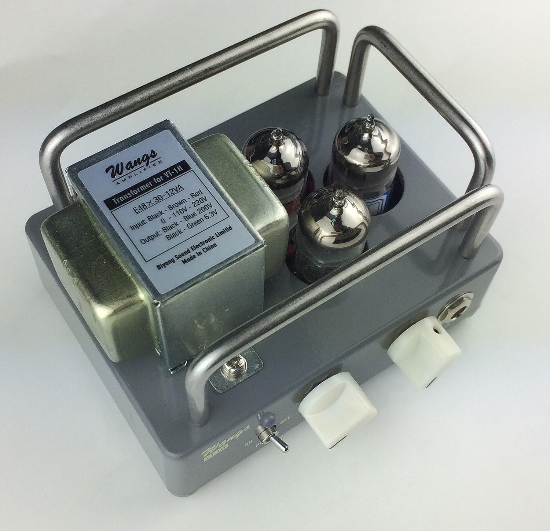 Biyang Wang Amps Vt 1h All Tube 1 Watt Micro Amp Head Higain Speaker Listening Amplifier Circuit Kit Aa5 Compact Powerful Musical Instruments