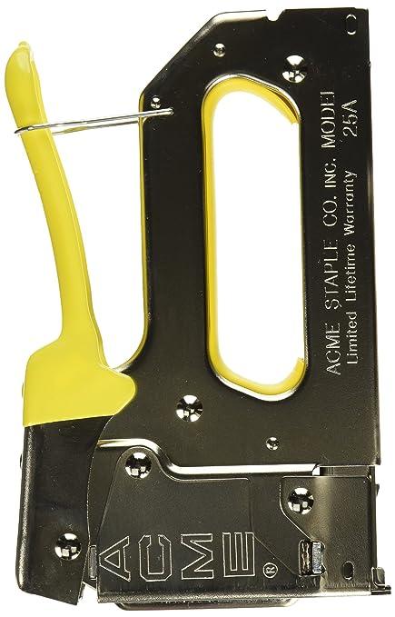 Acme Staple 654025b 25a Staple Gun With Bottom Load Magazine Crown
