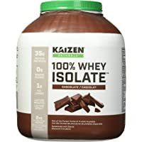 Kaizen Naturals Whey Protein Isolate, Chocolate, 2 kg