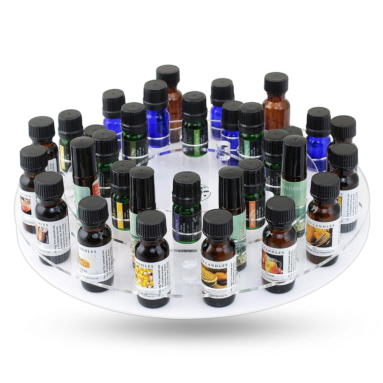 Essential Oils Storage Display Carousel /& Rotating Essential Oil Organizer Great West Sales