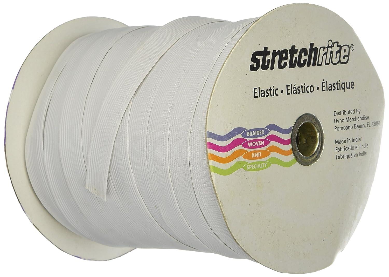 Singer Braided Elastic 1/4-inch, White, 144-Yard 1N1400WHTE