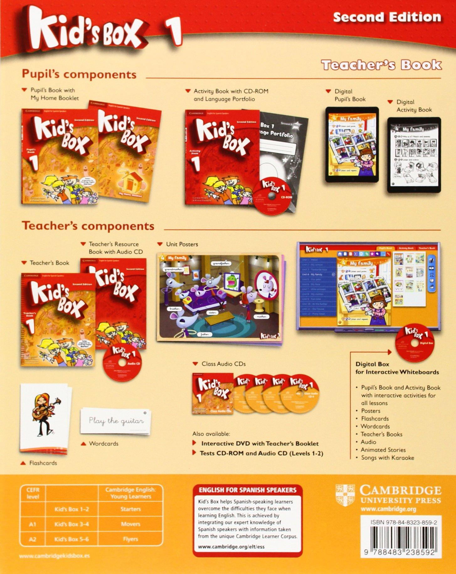 Kid's Box for Spanish Speakers Level 1 Teacher's Book Second Edition -  9788483238592: Amazon.es: Lucy Frino, Melanie Williams, Caroline Nixon, ...