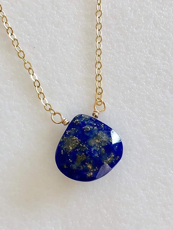 Carved Stone Pillar Pendant Silver Blue Jewelry Lapis Lazuli Pendant Blue Stone Wand Necklace Lapis Lazuli Jewelry Bohemian Necklace