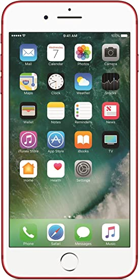 Apple iPhone 7 Plus 5.5 RetinaHD 256GB Rojo: Amazon.es: Electrónica