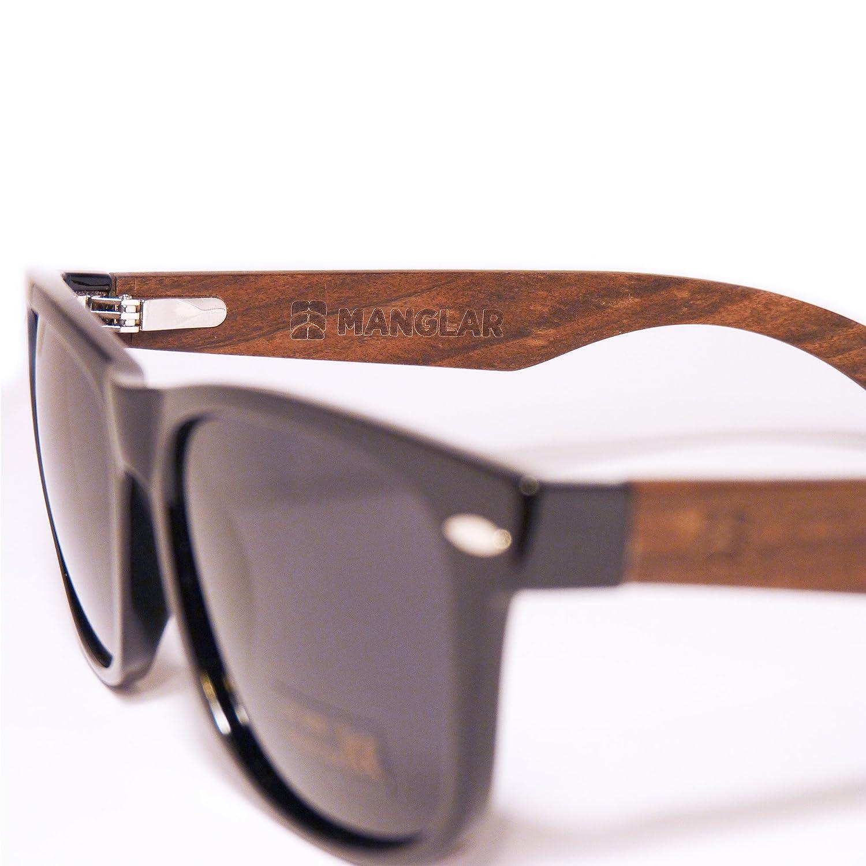 Amazon.com: Gafas de sol polarizadas ecológicas de madera ...