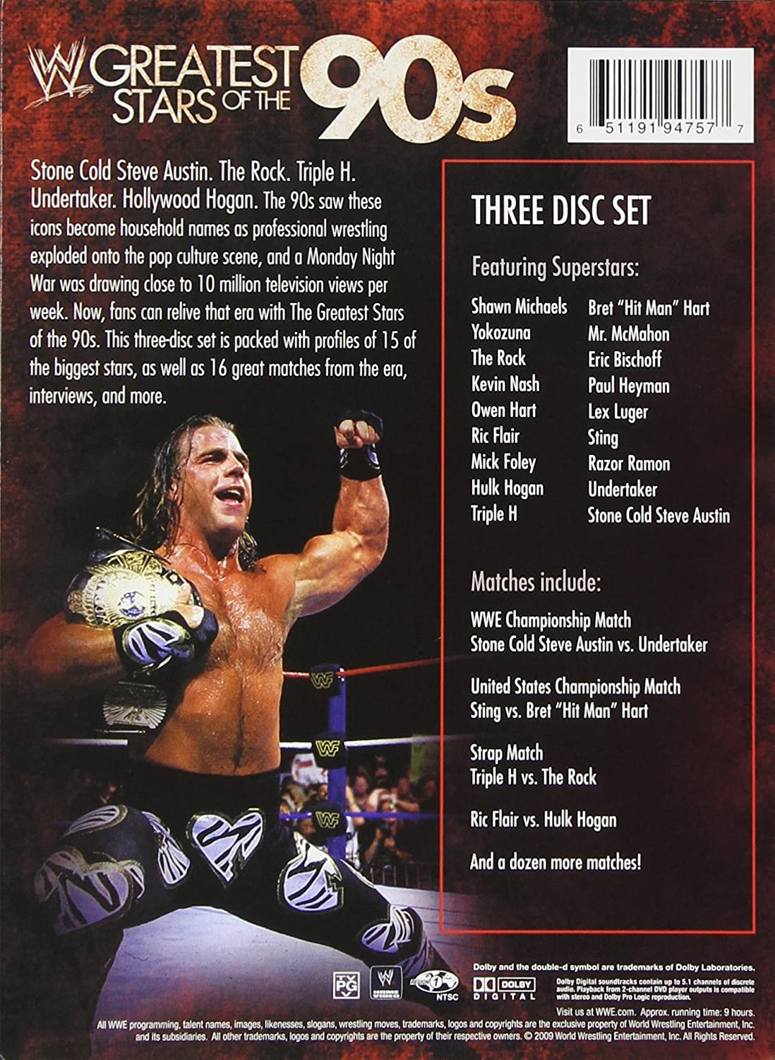 hulk hogan's rock wrestling 5 dvd box set