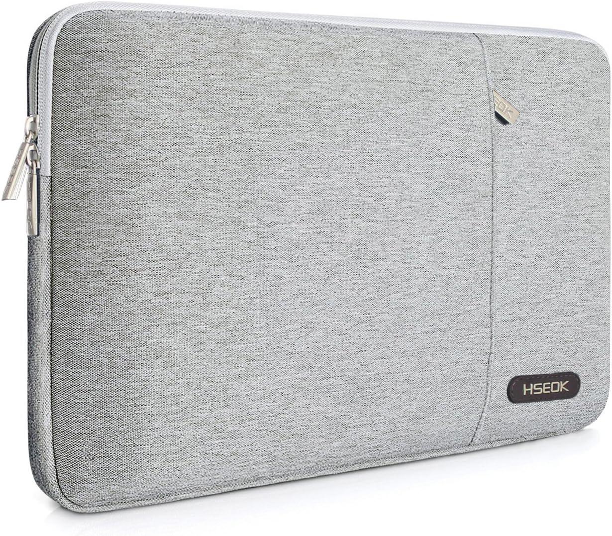 HSEOK 13-13,3 Pulgadas MacBook Air A1278/A1466/A1369 (2012-2017) Funda Protectora para Ordenadores Portátiles PC Bolsa para la mayoría de Las Laptop de 13-14 Pulgadas Notebook, Gris
