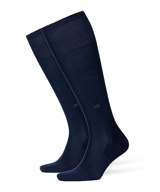 Burlington 21715 Universal Cotton Kniestrumpf - Calcetines cortos para hombre, color azul marino 6120, talla 40-46: Amazon.es: Ropa y accesorios