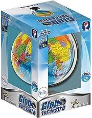 Science4you-5600310398788 Globo Terrestre y Atlas Mundial para Niños +8 Años, (398788)