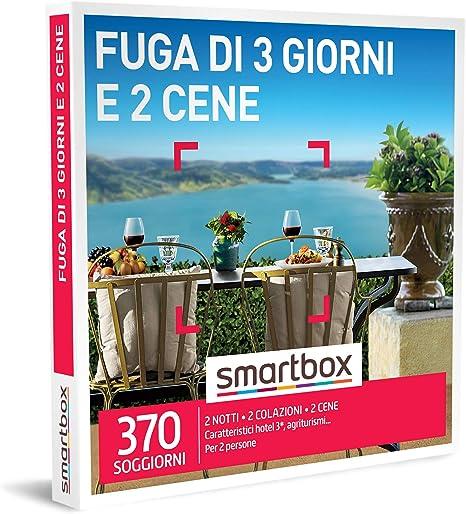 Smartbox Cofanetto Regalo Fuga Di 3 Giorni E 2 Cene Idee