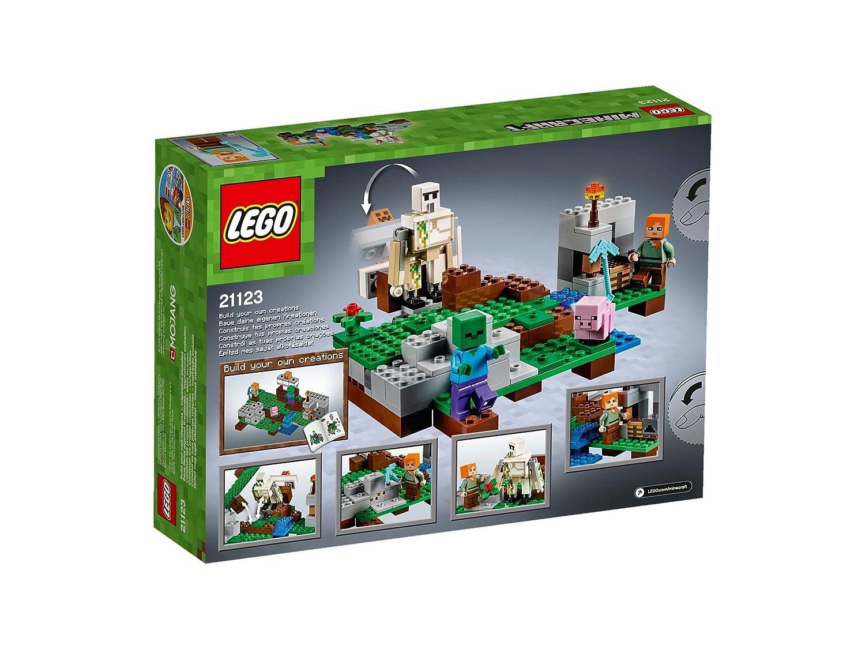 21123 LEGO Minecraft Der Eisengolem günstig kaufen