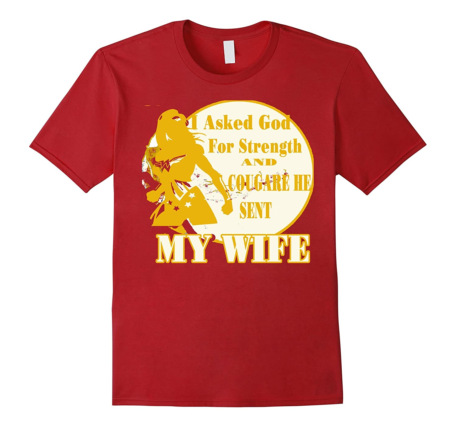 I Asked God For Strength And Courage He Sent My Wife