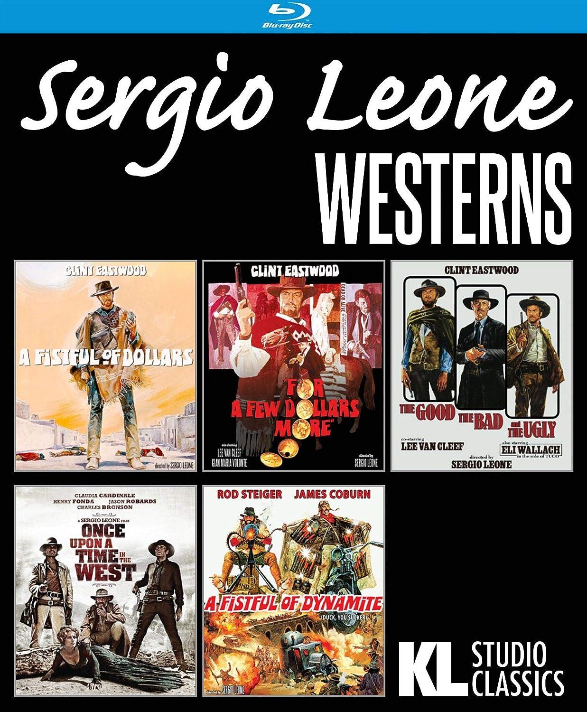 Blu Ray Sergio Leone Westerns Five Film Collection 5 Blu Ray Edizione Stati Uniti 1 Blu Ray Amazon De Dvd Blu Ray