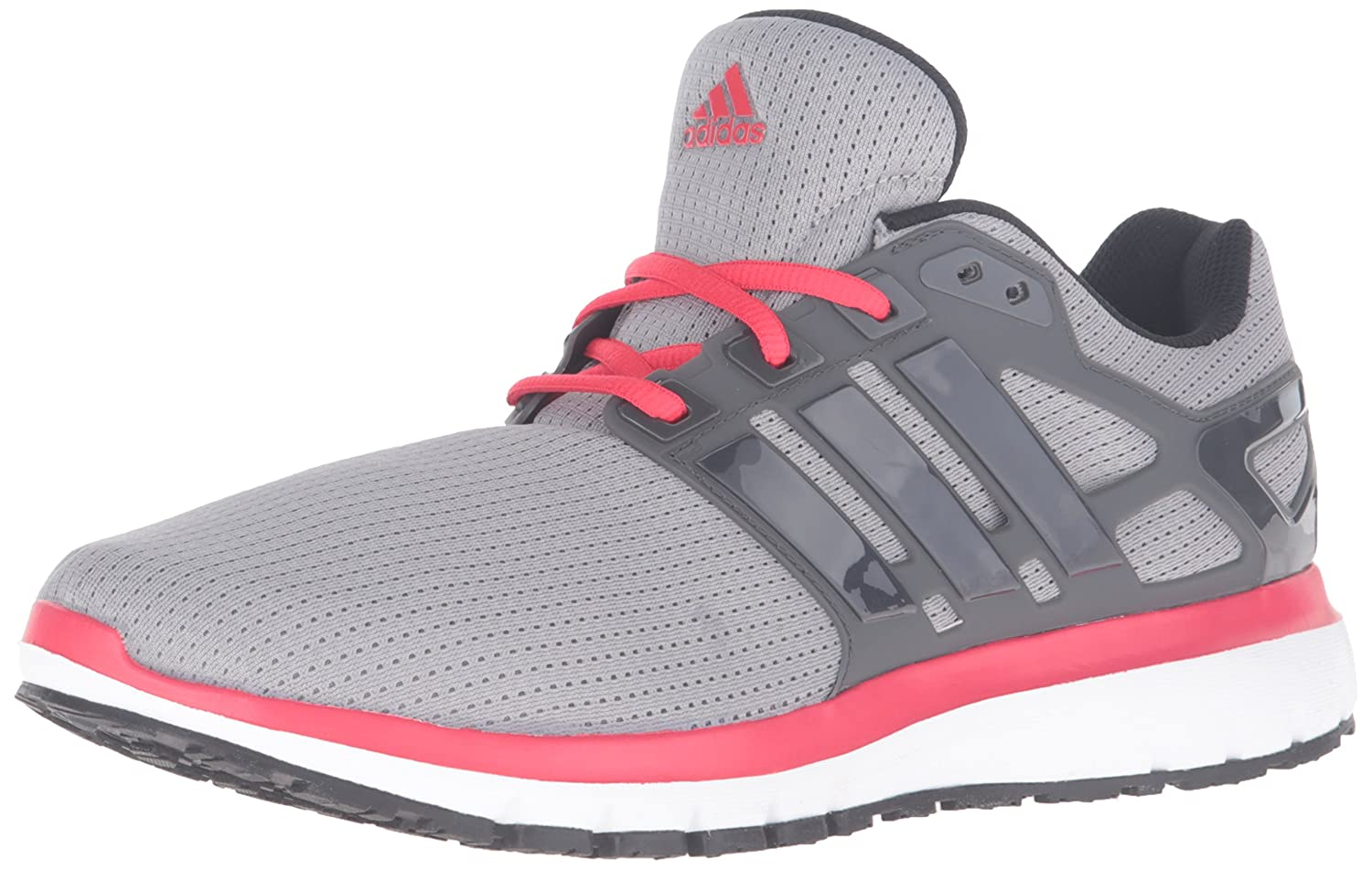 adidas Men's Energy Cloud WTC M Running Shoe B01AMXWJS0 8.5 D(M) US|Mgh Solid Grey/Dark Shale/Ray Red Fabric