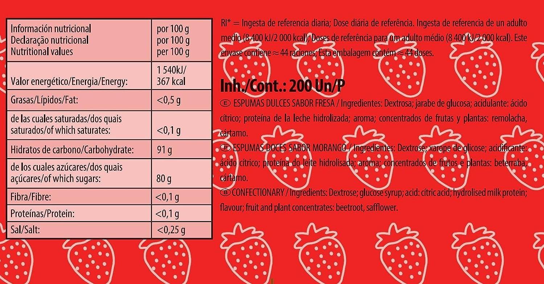 Haribo - Tochos refrescantes de fresa