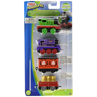 Thomas & Friends Adventures Sodor Postal Run Train Pack: Percy, Charlie, Mail Car & Flatbed with Mail Cargo: Toys & Games [5Bkhe0502250]