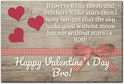 Amazon Mundus Souvenirs If Lovers R Like Moon And Brothers R Amazing Valentines Day Quote Pictures