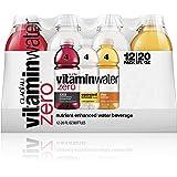 vitaminwater zero, electrolyte enhanced water w/vitamins, variety pack, 20 fl oz, 12 pack