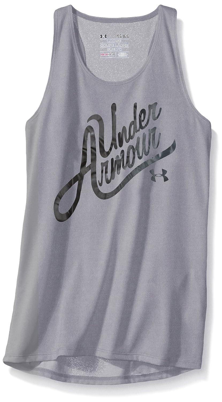 UA Girls Aloha Wordmark Under Armour Apparel