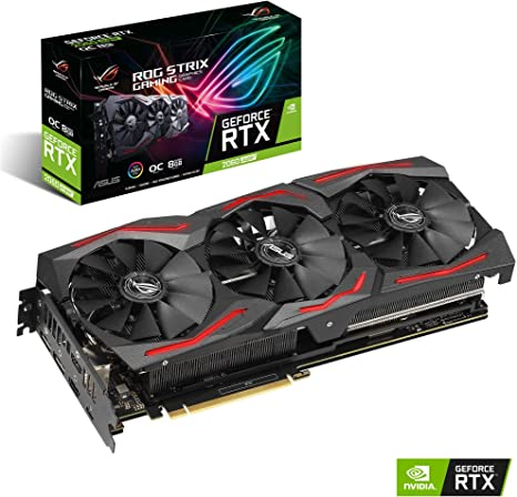 Asus ROG Strix GeForce RTX 2060 SUPER EVO OC Edition 8 GB GDDR6 ...