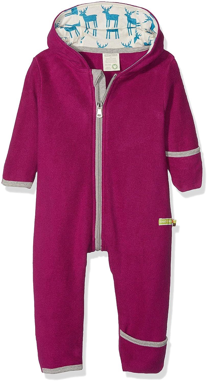 loud + proud Baby Girls' Overall Fleece Snowsuit 5033