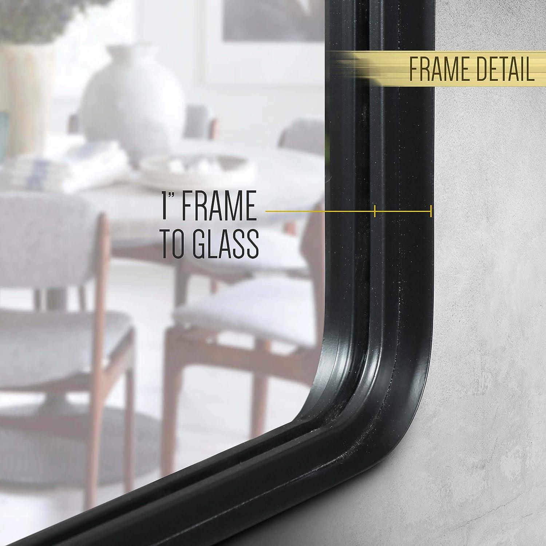Amazon.com: HBCY Creations - Espejo rectangular de pared ...