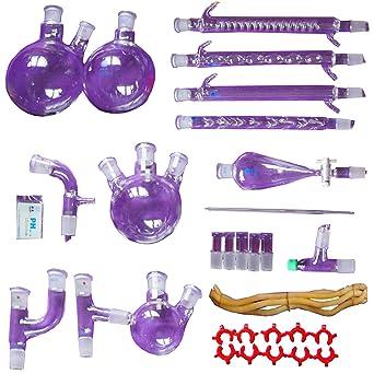 31 Pezzi Nuovo Laboratorio Olio Essenziale Distillazione Chimica