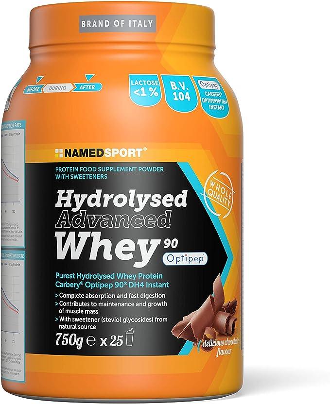 NAMEDSPORT Hydrolysed Advanced Whey Delicious Chocolate - 750 gr