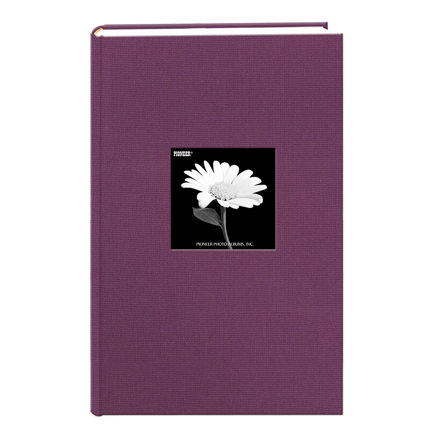 Pioneer Photo Albums. Fabric Frame Cover Photo Album 300 Pockets Hold 4x6 Photos, Wildberry Purple (Limited Edition) by Pioneer Photo Albums