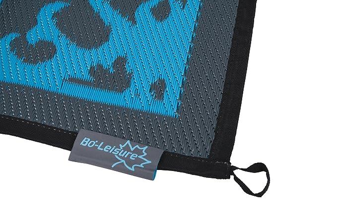Bo leisure bl chill mat teppich azurblau xl: amazon.de: sport