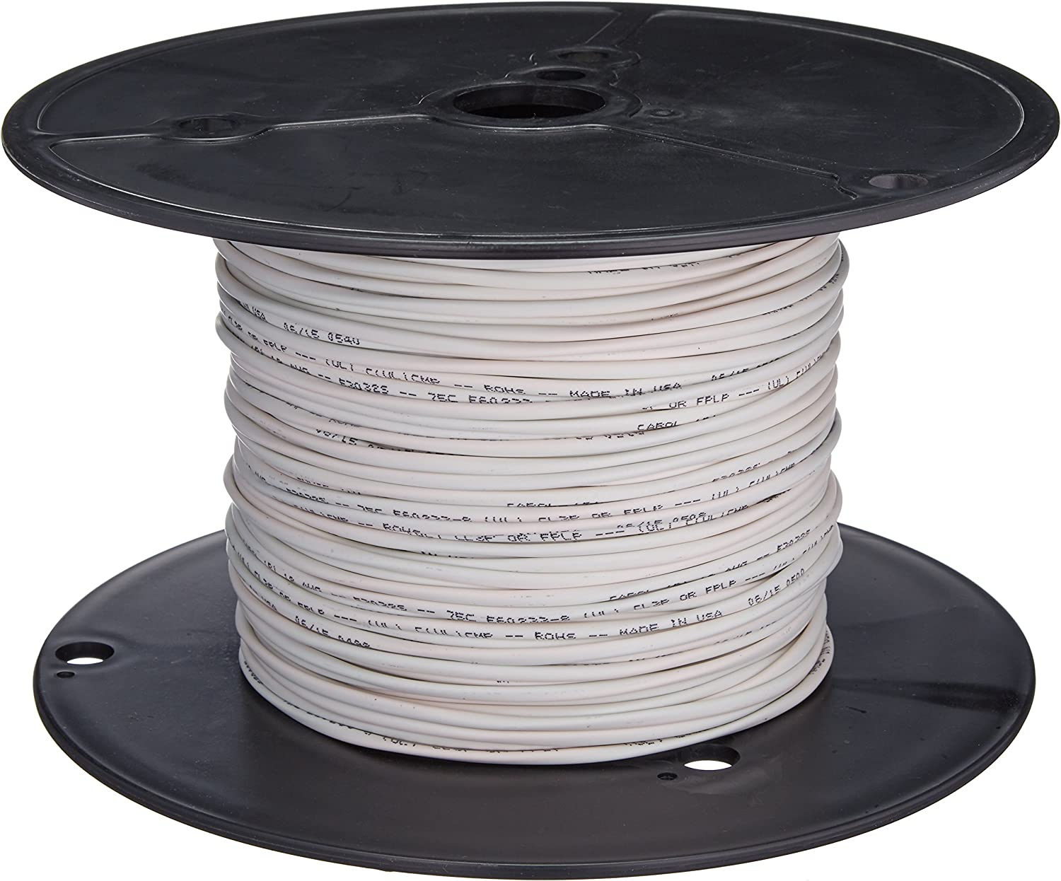 Plenum CMP-Rated C2G//Cables to Go 40538 18 AWG Bulk Speaker Wire 500 Feet, 152.4 Meters