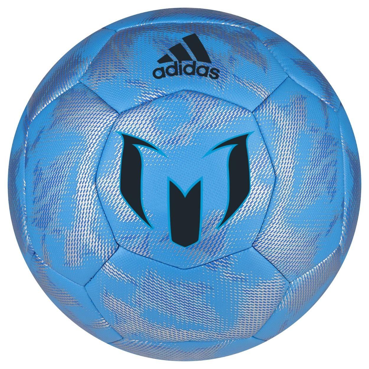 adidas Messi - Balón de fútbol (Azul Solar, fantomo y Plata ...