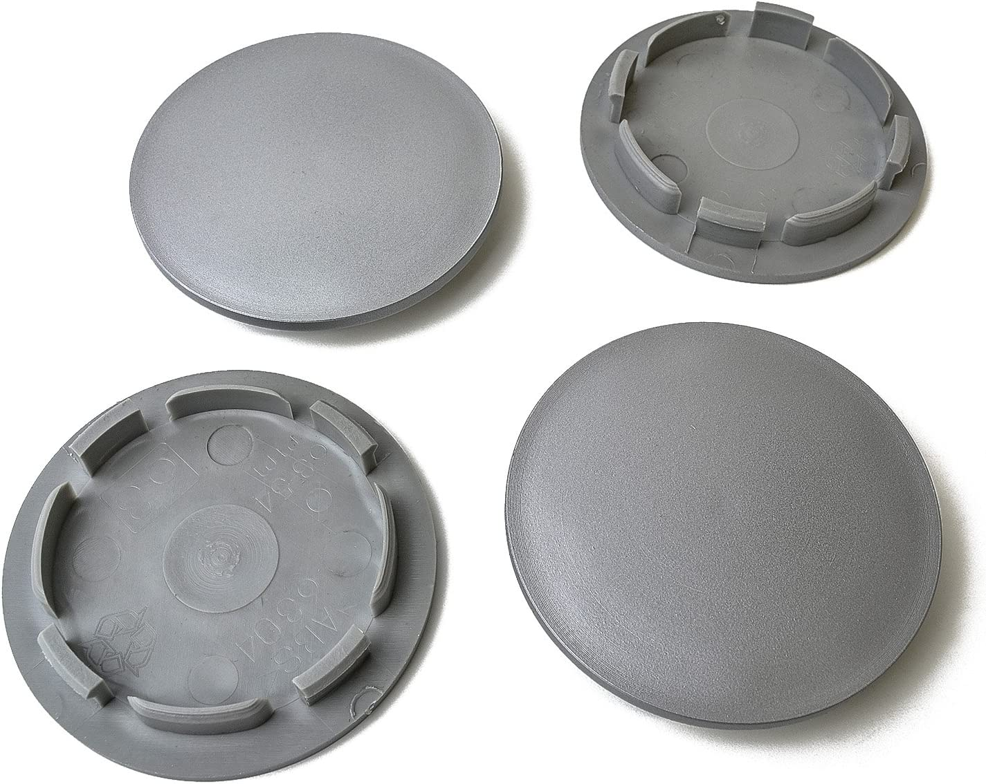 54 mm 4 unidades Tapabujes de 63 en gris,llantas