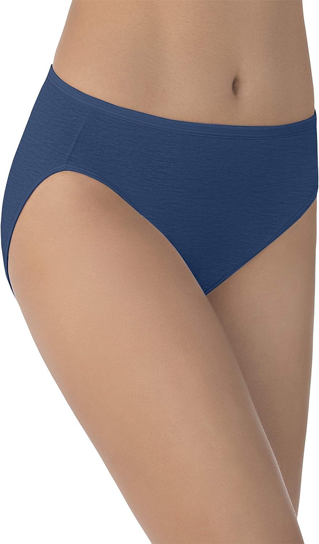 Vanity Fair Women's Illumination Hi Cut Panties (Regular & Plus Size)