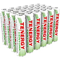 Tenergy Centura AAA NIMH Rechargeable Battery, 800mAh Low Self Discharge Triple A Battery, Pre-Charged AAA Size Batteries Pack for Remote Control/Toys/Flashlight/Mice (24 PCS)