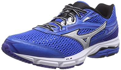 pretty nice 857fb f3e53 Mizuno Men s Wave Legend 3 Running Shoes Blue Blau  (ElecricBlue Silver Black 04