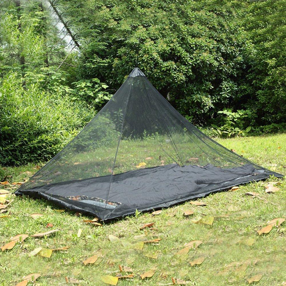 Kompakt und Leicht kompakter Leichter M/ückenschutz f/ür Reise und Outdoor Vidillo Camping Moskitonetz f/ür Einzel Camping Bed
