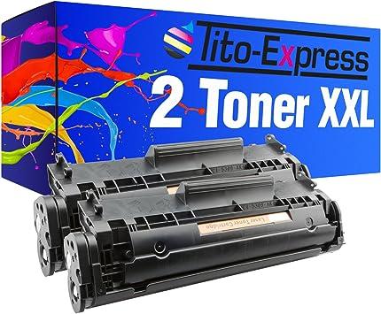 Tito Express Platinumserie 2 Toner Xxl Kompatibel Mit Hp Q2612a 12a Laserjet 1010 1012 1015 1018 1020 1022 N 1022 Nw 1028 3015 Aio 3020 Aio 3030 Aio 3050 Z 3052 3055 M1005 Mfp M1319 M1319f Bürobedarf Schreibwaren