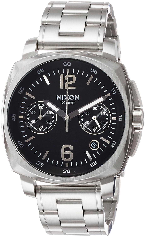 [ニクソン]NIXON CHARGER CHRONO: BLACK NA1071000-00 【正規輸入品】 B01N2NKAQ5