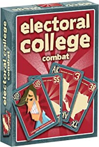 Electoral College Combat (Two-Player Card Game: Fun, Fast-paced, and Unpredictable)