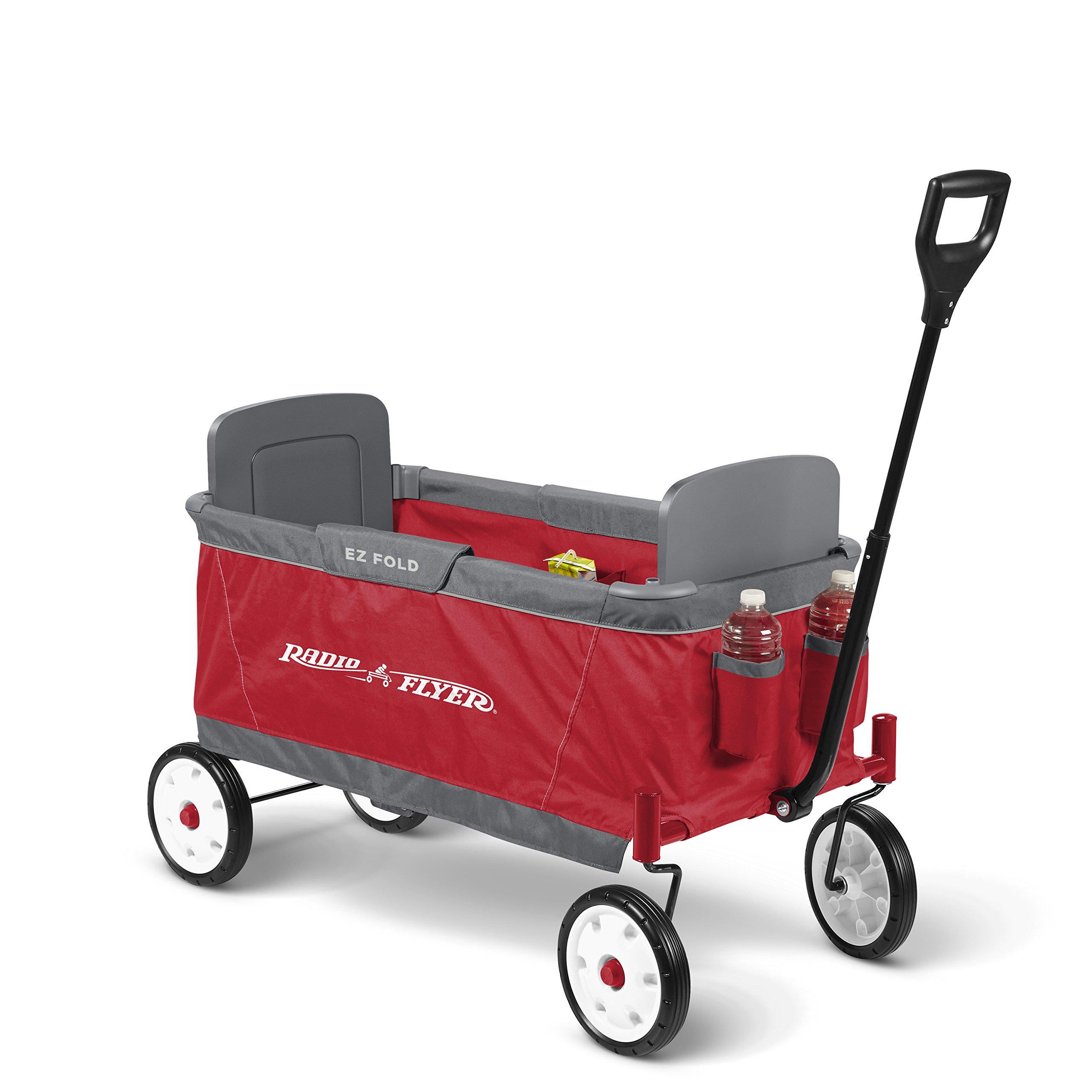 Radio Flyer Ez Fold Wagon Ride On, Red by Radio Flyer