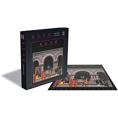 Rush Jigsaw Moving Pictures Album Cover Official 500 Piece: Home & Kitchen
