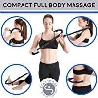 Body Back Buddy Junior Trigger Point Therapy Self Massage Stick with Usage Poster