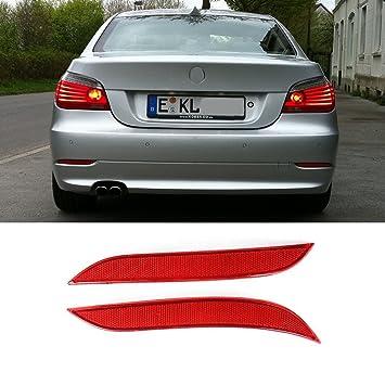 Right Rear Bumper Reflector Light Red Lens 63146915040 New for BMW E60 E61 03-07