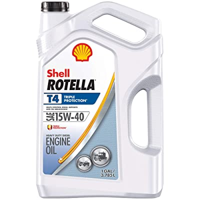 Shell Rotella T4 Triple Protection Conventional 15W-40 Diesel Engine Oil
