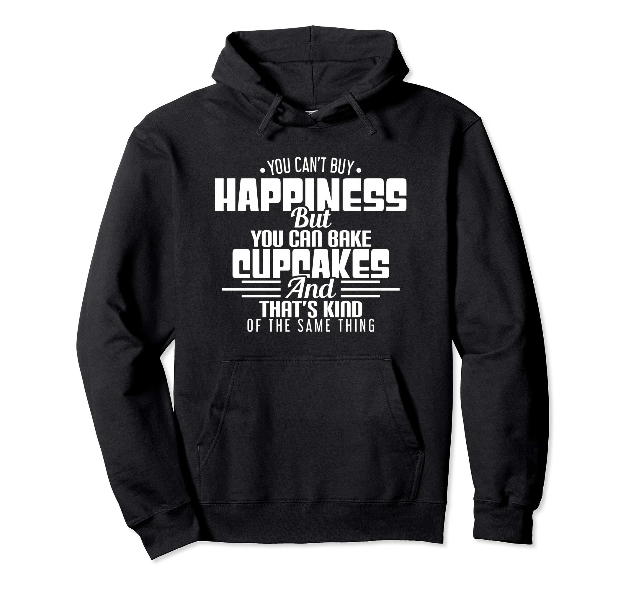 Funny Cupcake Baker Can't Buy Happiness Cute Gift Attire by Cupcake Baker Happiness is Baking Design