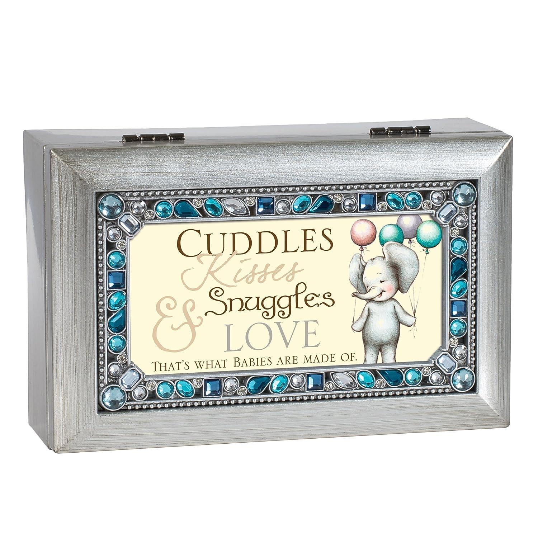 【期間限定お試し価格】 Cuddles Are kisses snuggles snuggles Love SilvertoneブルーJeweled小柄音楽ボックスPlays Sunshine You Are My Sunshine B071WKKVFH, Queen017:7a27c4fd --- arcego.dominiotemporario.com