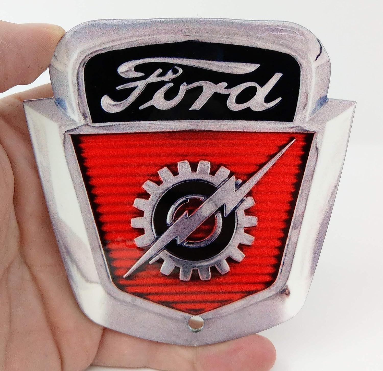 53-56 Ford F-100 Emblem//Keychain//Toolbox Magnet H13